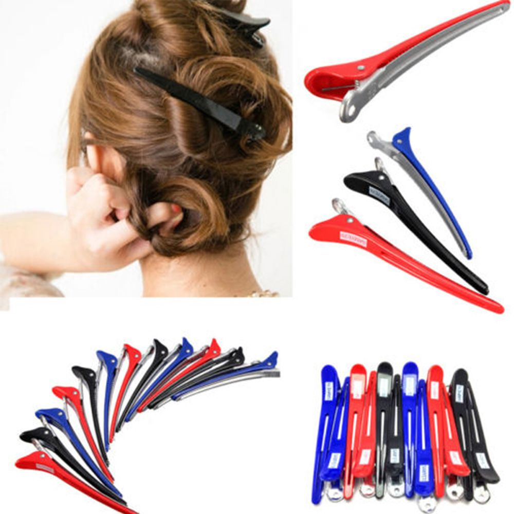 Multifunction Useful 12Pcs Metal Hair Clip Styling Accessory Professional Hairdressing Salon Section Hair Clip Styling Tools