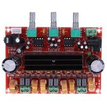 1 pc TPA3116D2 Amplificateurs 50Wx2 + 100 W 2.1 Canal Numérique Subwoofer Amplificateur Conseil 12 V-24 V Puissance