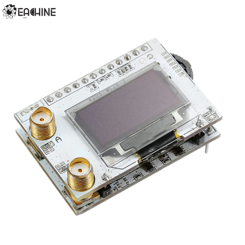 Eachine PRO58 40CH Diversidade RX 5.8G VRX OLED SCAN Receptor para FatShark FPV Óculos de Proteção
