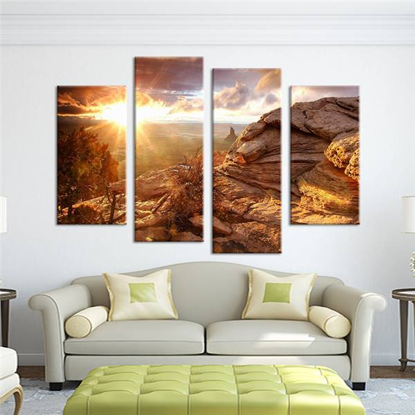 The Four Season Painting Art HD Print On Canvas Wall Deco Unframed Picture 12x16