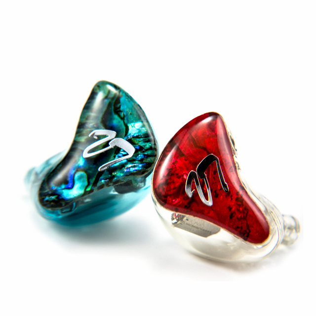 2016 New VT Custom Made 3BA with 1DD  Hybrid in Ear Earphone Around Ear Earphone With MMCX Plated Earphone