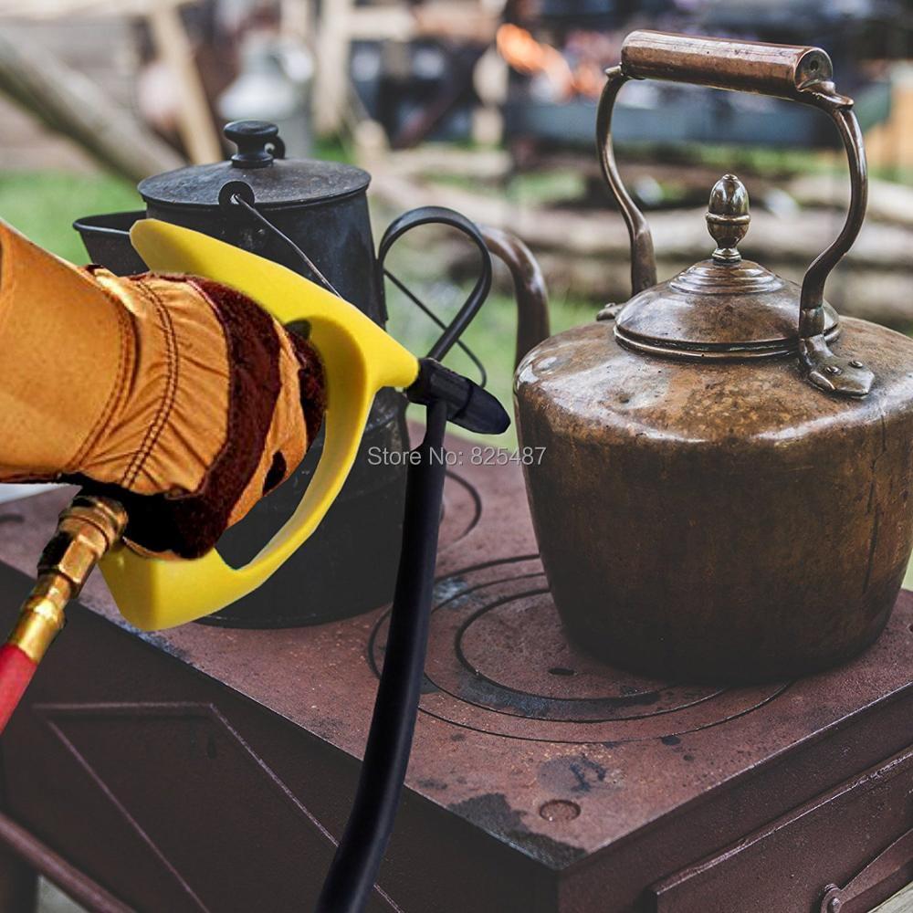 Pistolet de sablage d'alimentation de Siphon de LEMATEC avec le tuyau de 10FT