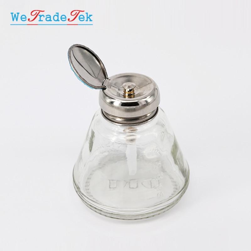 Anti-Static Glass Liquid Alcohol Bottle 150ML Phone Repair Clean Tool Automatic Water Bottle ESD Dispenser Bottle