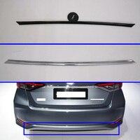 For Toyota Sedan Corolla E210 Prestige Altis 2019 2020 ABS Rear Bumper Skid Protector Guard Plate accessories