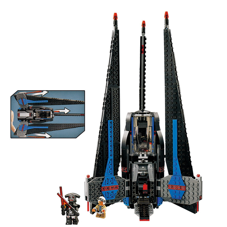 Lepin 05112 597pcs Model building kits compatible with lego Star wars 7518 Pursuit of type I fighter toys & hobbies gift lepin 02012 city deepwater exploration vessel 60095 building blocks policeman toys children compatible with lego gift kid sets