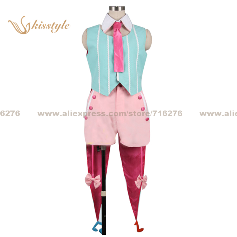 Kisstyle Fashion The Super Dimension Fortress Macross Palgantong Macross Frontier Sayonara no Tsubasa Uniform Cosplay Costume купить недорого в Москве