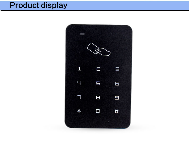 OBO HANDS 125khz RFID Keypad access control system digital keyboard door lock controller RFID card reader with 10pcs TK4100 keys