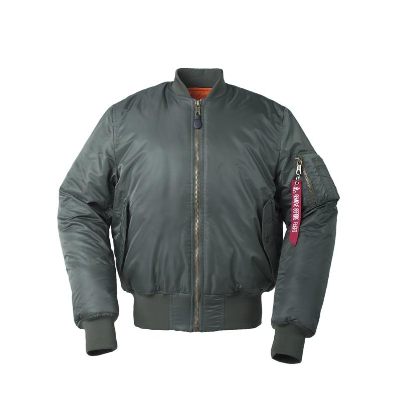 Image 4 - Plus Size US Air Force Pilot Ma1 Bomber Flight Jacket Men hip hop  padded Letterman Winter Waterproof Nylon puffer red women coatflight  jacket menbomber flight jacketsflight jacket