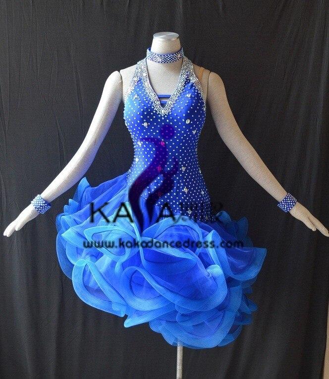 KAKA L1548 font b Women b font Dance Wear Girls Fringe Latin font b Dress b