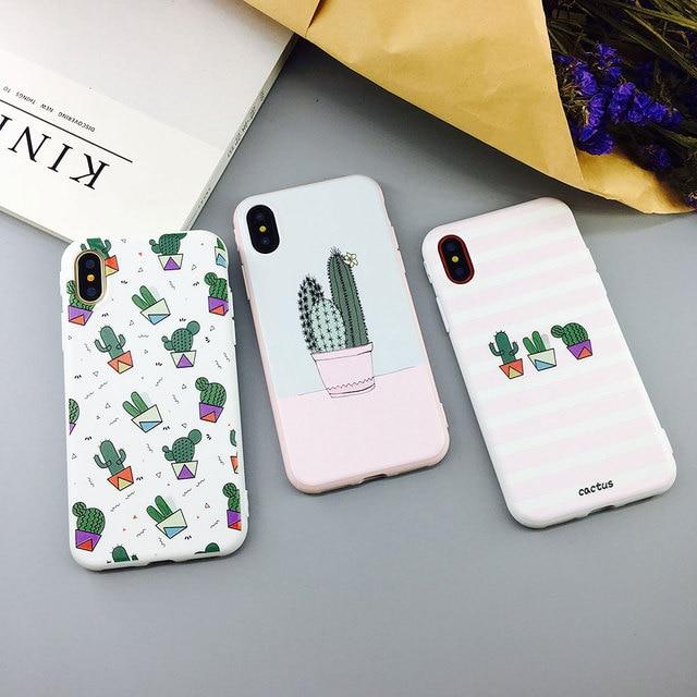 coque cactus iphone x