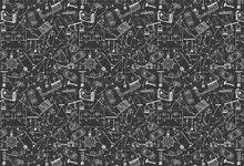 Laeacco Negro Padrões Geométricos Escola Estudante Crustomized Cenários Fotográficos Fotografia Fundos Para Estúdio de Fotografia