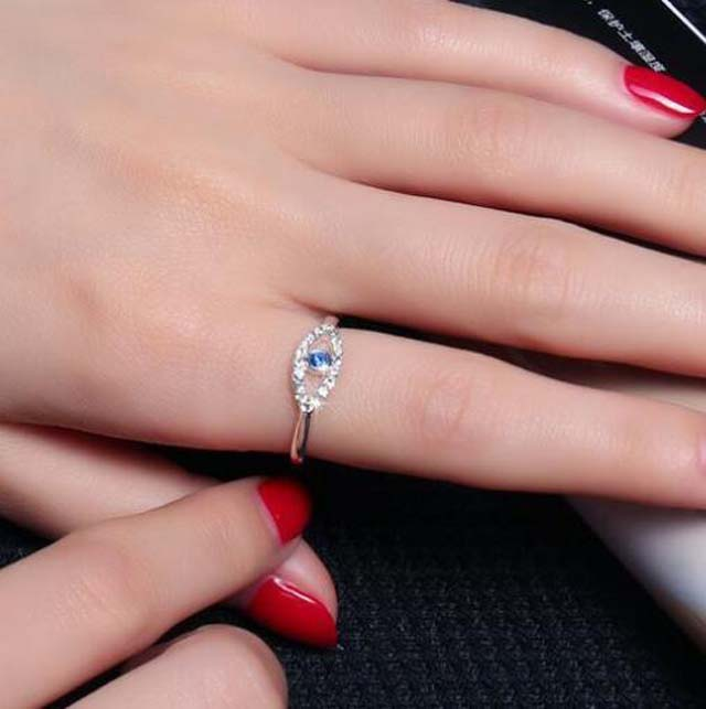 Most Popular Bridal Jewelry Stainless Steel Women Rhinestone