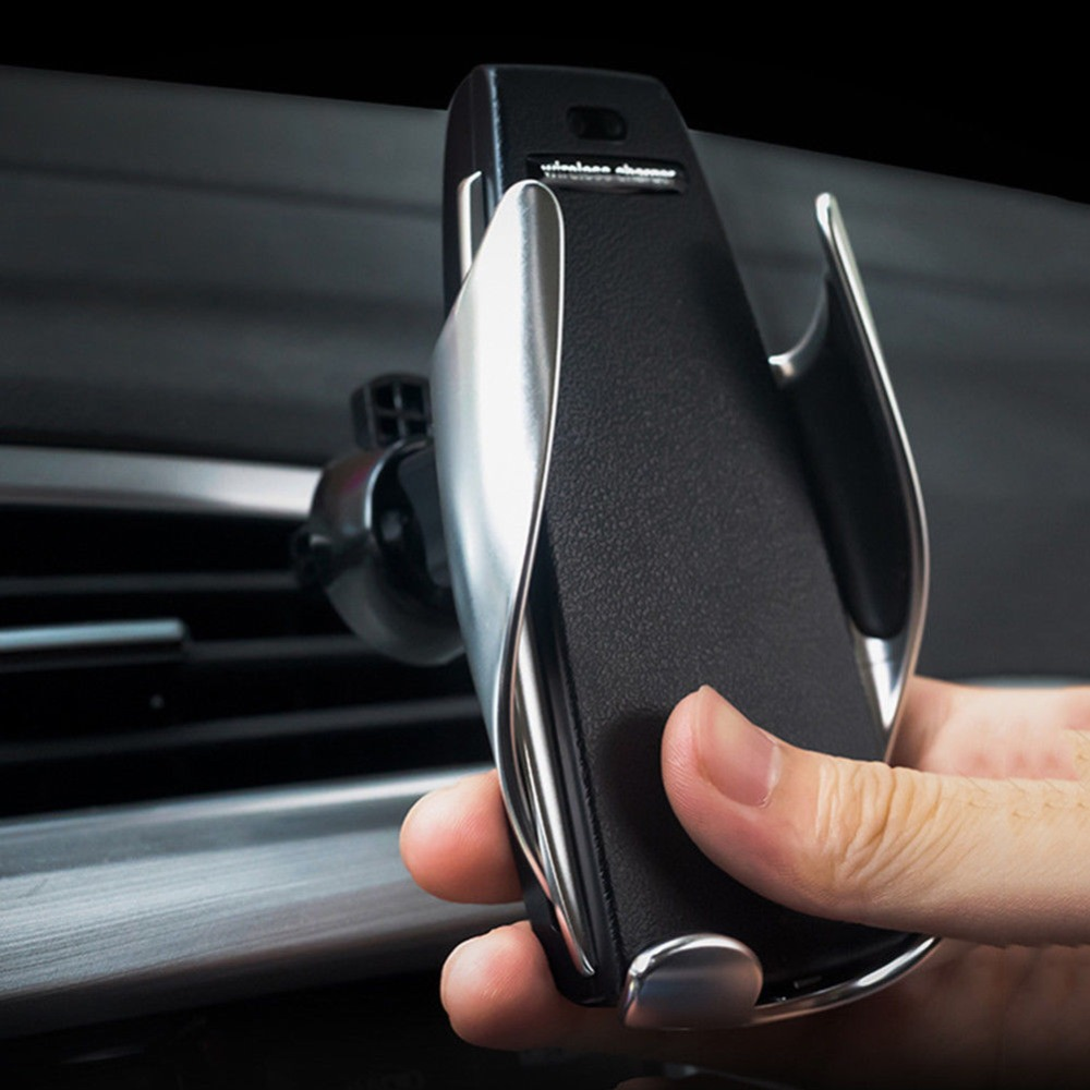 Automatic car mount wireless charger stanley pipe cutter