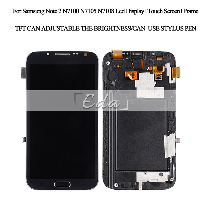 Note 2 LCD display Catteny For Samsung Galaxy Note 2 screen N7100 Lcd display Touch Screen Digitizer With frame+homebutton+toolsNote 2 LCD display Catteny For Samsung Galaxy Note 2 screen N7100 Lcd display Touch Screen Digitizer With frame+homebutton+tools