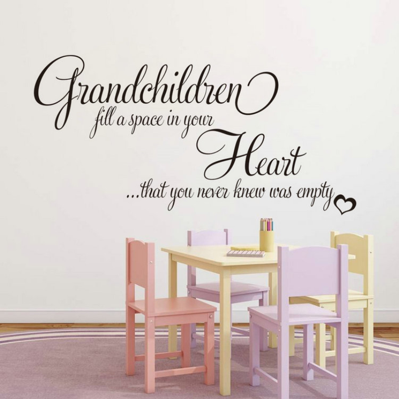New Year Christmas Decor Grandchildren Fill Empty Heart