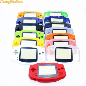 Image 2 - 10 sets Luminous Solid Colorfull Replacement Housing Shell Case Cover for Nintendo Gameboy Advance for GBA at factory price 1x