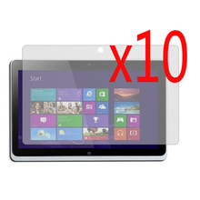 """10x LCD Film +10x Cloth , Clear LCD Screen Protector Protective Film Guards Films For Acer Iconia Tab W510 W511 10.1"""" Tablet(China)"""