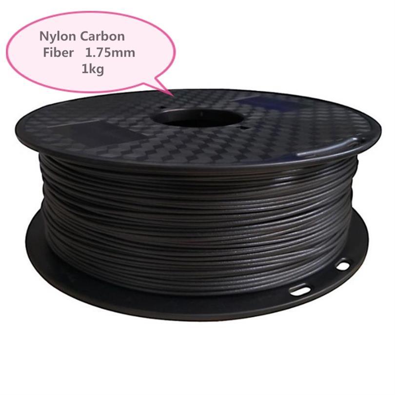 PA-CF Nylon fibre de carbone renforcé Nylon 3D imprimante consommables FDM matériel 1 KG 1.75 MM consommables matériel