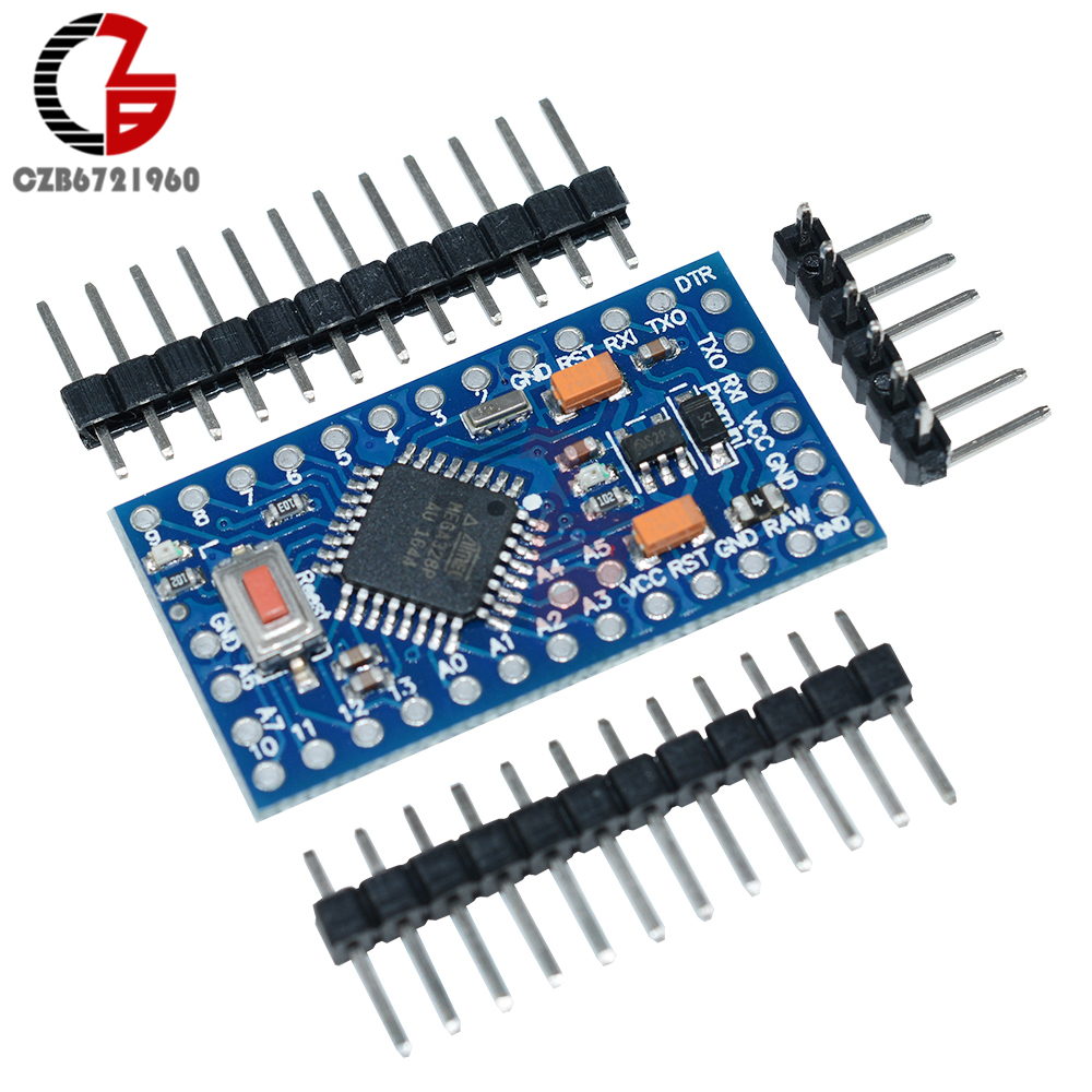 10Pcs Pro Mini Atmega328 Pro Mini 328 Mini ATMEGA328 3.3V 8MHz Replace Atmega 128 For Arduino Compatible Nano