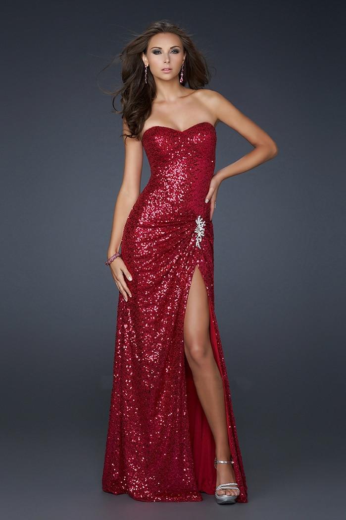 Free Shipping Robe De Soiree 2019 New Fashionable Cheap Crystal Vpaillette Sweetheart Estido De Noiva Long Bridesmaid Dresses