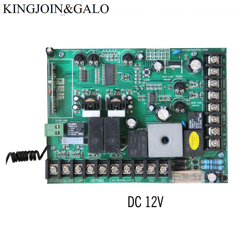 DC12V /24V PCB Control Board for Electric Swing Gate motor gate opener цена