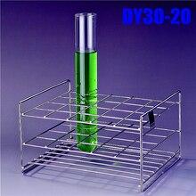 Reagenzglas Rack 20 Löcher Dia. 32mm Edelstahldraht Hohe Qualität, alle Größe In Speicher