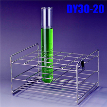 Test Tube Rack 20 Holes  Dia. 32mm  Stainless Steel Wire  High Quality , All Size  Available In Store