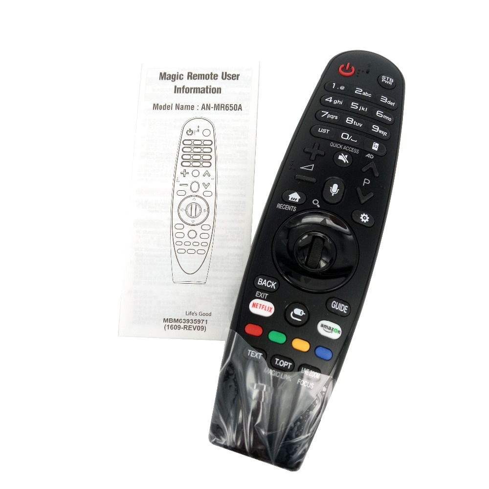 Nouveau AN-MR650A Original pour LG Magic télécommande avec voix Mate pour Select 2017 Smart television 65uj620y Fernbedienung
