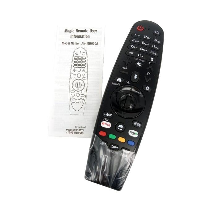 Nowy oryginalny AN MR650A do LG Magic pilot z Voice Mate do wyboru 2017 Smart tv 65uj620y Fernbedienung
