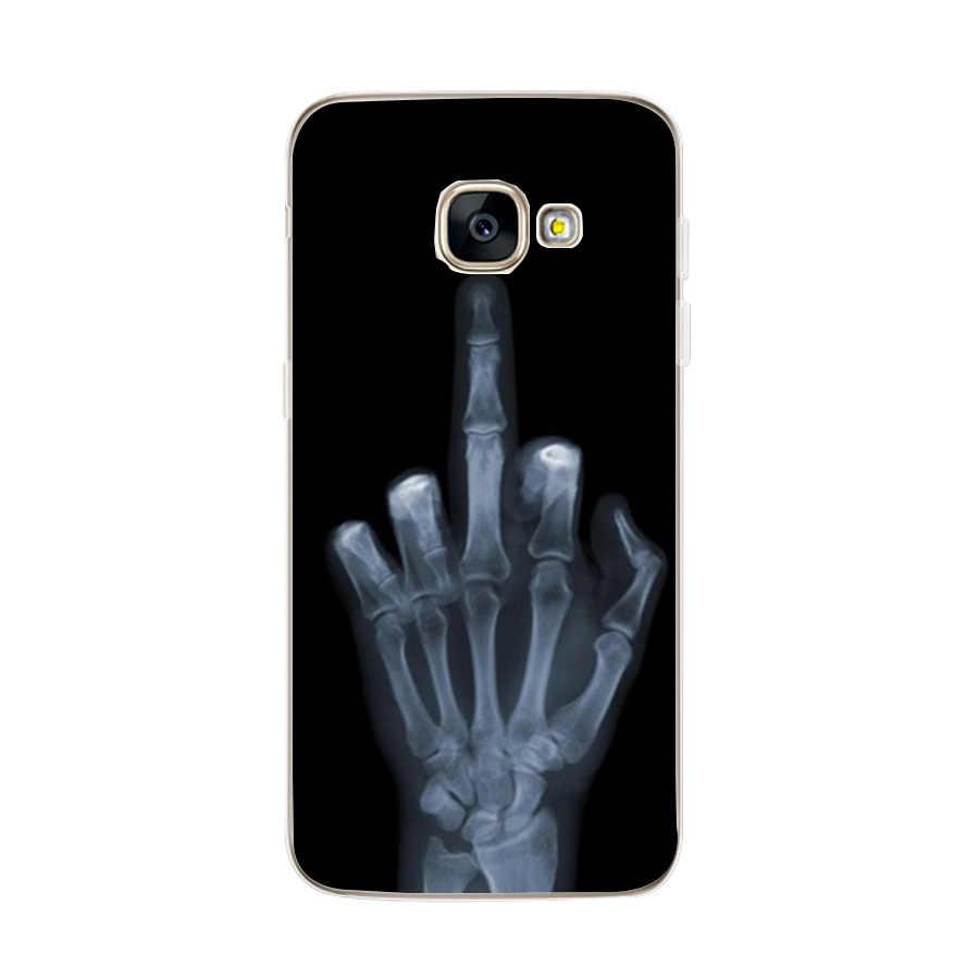 سيليكون الهاتف حقيبة لهاتف سامسونج غالاكسي S8 حالات غطاء لسامسونج S8 s9 Plus A3 A5 A7 J5 2017 A8 زائد 2018 الهاتف قذيفة كاملة 360