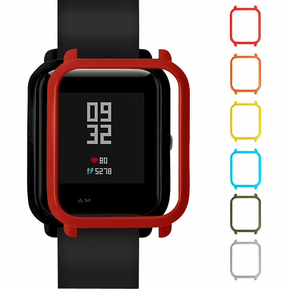 Smart Watch Accessories Colorful PC Case Cover Protect Shell For Xiaomi Huami Amazfit Bip Youth Watch 2018 #10