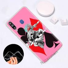 Anime Hisoka Hunter X Hunter Silicone Phone Case for Samsung Galaxy J8 J6 J4 Plus 2018 A50 A70 A80 Note 8 9 (16 Types)