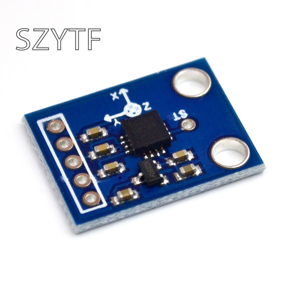 Image 2 - ADXL335 three axis accelerometer tilt angle module alternative MMA7260 GY 61-in Integrated Circuits from Electronic Components & Supplies
