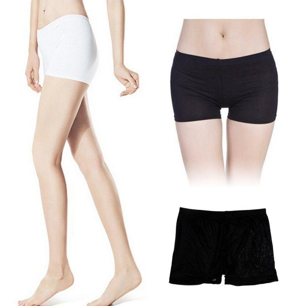 24349a42c39f Women Sexy Yoga Sport Seamless Safety Shorts Leggings Basic Plain ...