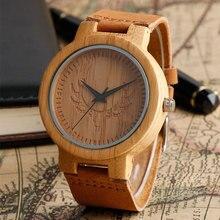Deer Head Creative Bamboo Wood Watches Mens Luxury Brand Clo
