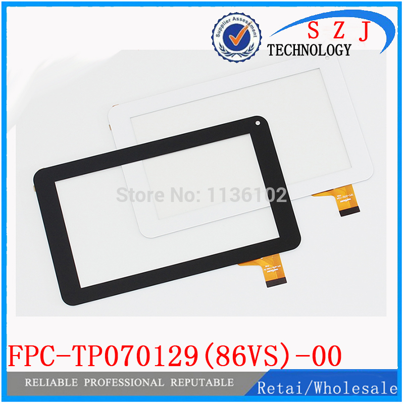 Original 7'' inch Capacitive Digitizer touch screen panel Glass for tablet PC/MID FPC-TP070129(86VS)-00 Free shipping 10Pcs/lot 9 7 inch touch screen tablet computer touch screen bm2 85 0970940 00