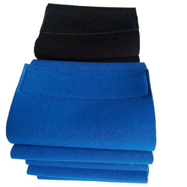 Men Women Waist Trimmer Back Support Belt Brace Gym Guard Posture Pain Relief Waist Support Black/Blue 2Colors 1