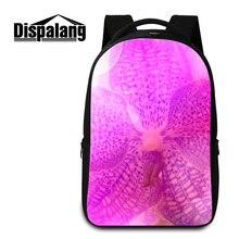 Dispalang 3D цветочный печати мешок школы для подростков девушки женщин цветок ноутбук рюкзаки средней школы студенты повседневная ежедневно рюкзак