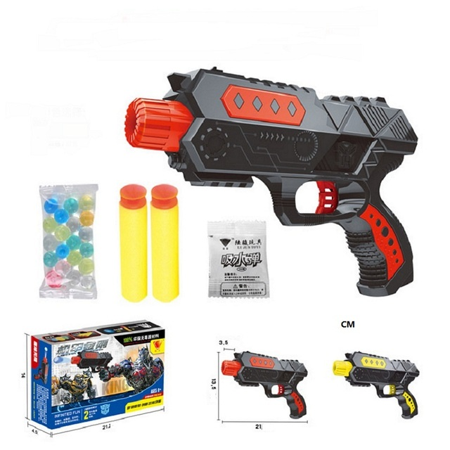 Get Quotations · Free Shopping fashion Paintball nerf Gun & Soft Nerf  Bullet Gun Shooting Water Crystal Gun New
