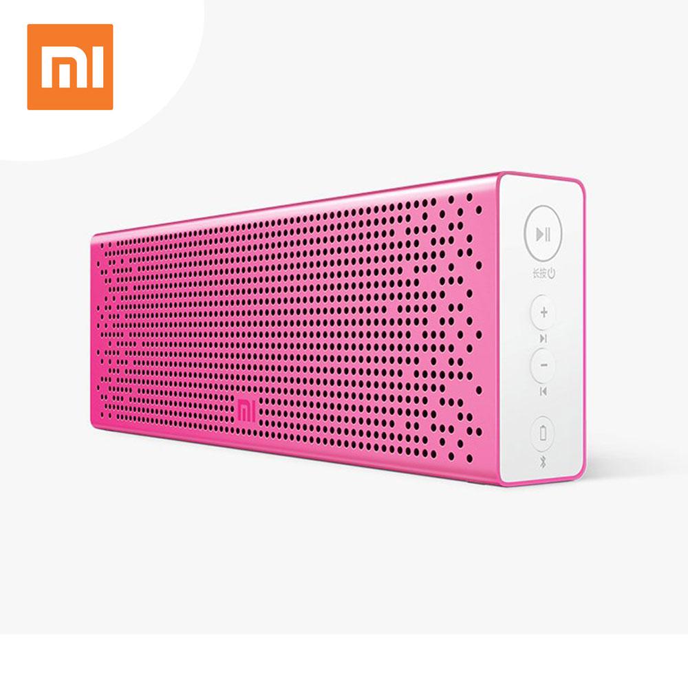 Prix pour Xiaomi mi bluetooth haut-parleur stéréo sans fil mini portable bluetooth haut-parleurs musique mp3 player support mains libres 100% d'origine