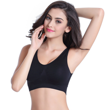 Women Sports Bra Running Fitness Sexy Yoga Bra Seamless Underwear Push Up Black Pink Sports Bra