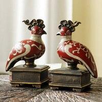 Высокая конец Европейский Декор мебели и украшения домашнего интерьера смолы Yuanyang воды Подставки для книг свадебный подарок книга