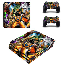Playstation 4 Pro PS4 Dragon Ball Skin Console 2 Skins
