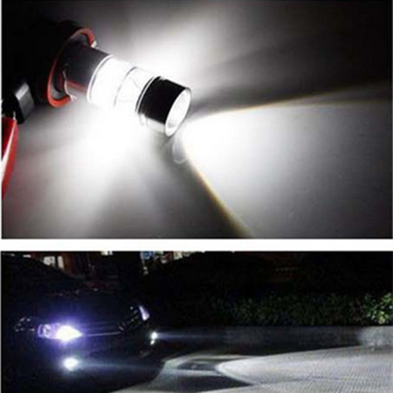 2x Super Bright White 60W 9006 HB4 LED Bulbs Reflector Mirror Design Fog Lights Replacement Bulbs Error Free Canbus Decode Lamp boaosi 1x 9006 hb4 led canbus bulbs reflector mirror design for fog light no error for lexus gs300 ls430 is200 rx300 old regal
