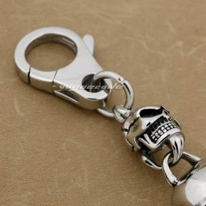 Image 4 - Porte clés de Biker Rock Punk en acier