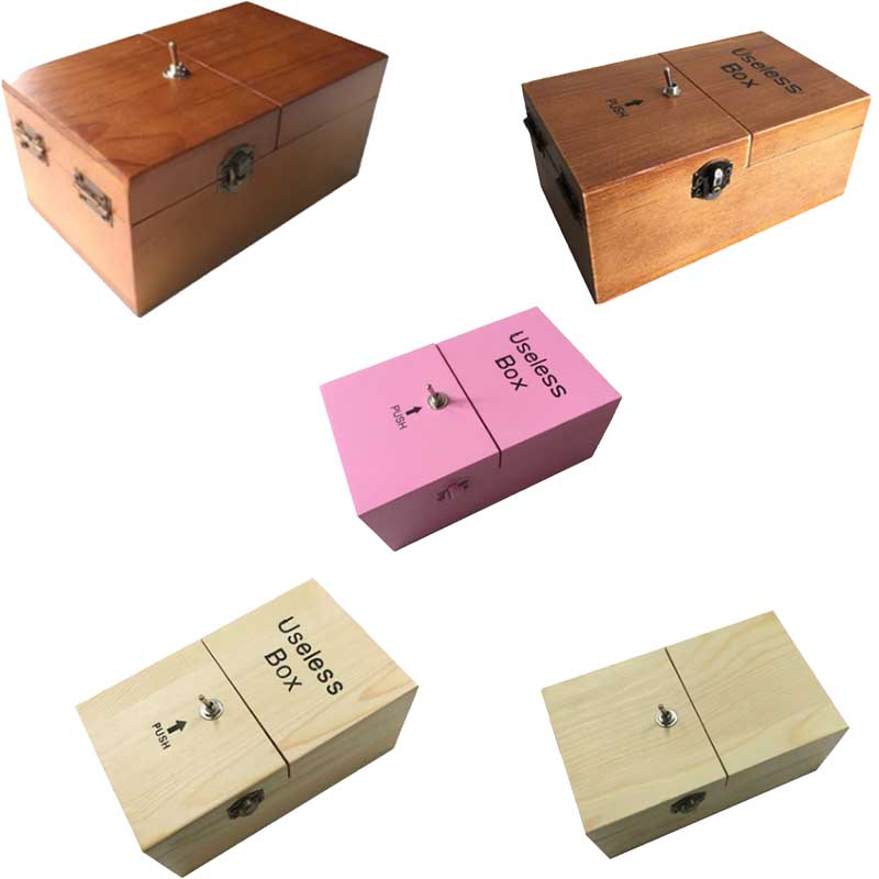 Broad Game/Tricky Toys/Useless Box Creative Funny Present/Creative Gifts/Fun Party Novel Wooden Toys For Kids