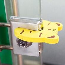 5pcs/lot Baby Kids Safety Stop Lock Cartoon EVA Door Stopper