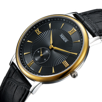 Reloj de lujo de marca suiza Nesun  relojes de cuarzo con movimiento de Japón MIYOTA para hombres  reloj impermeable de cuero genuino N8501 LM4 clock brand clock waterproof clock men waterproof -