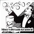 Miser's Dream Granted (Gimmick+DVD),Stage Magic Tricks,Mentalism Magic,Illusions,Fun, Coin&Money Magic,Accessories