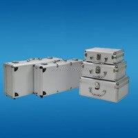 220*170*85mm Portable aluminum toolbox instrument case medicine equipment part toolcase Cosmetic Box tool packaging